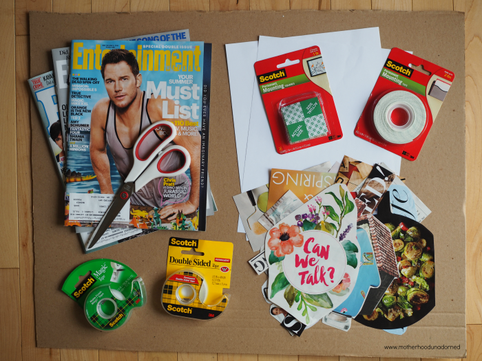 What You Need to Create a Vision Board #ProjectAmazing AD