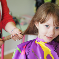 Donating Hair: A Lesson in Giving for My 5 Year Old