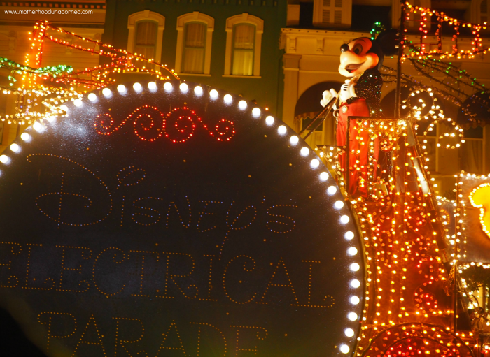 Disney's Electrical Parade Mickey Mouse