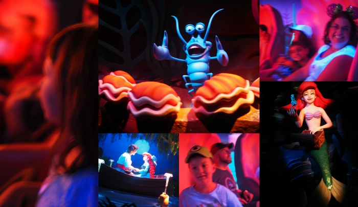 Under the Sea Ariel Ride at Disney World