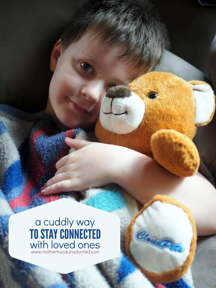 A cuddly and hi tech way to stay connected with loved ones #ad #CloudPetsForever