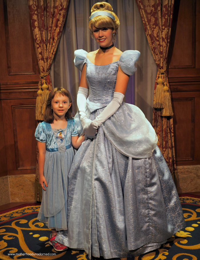 Ellie meets Cinderella Disney World