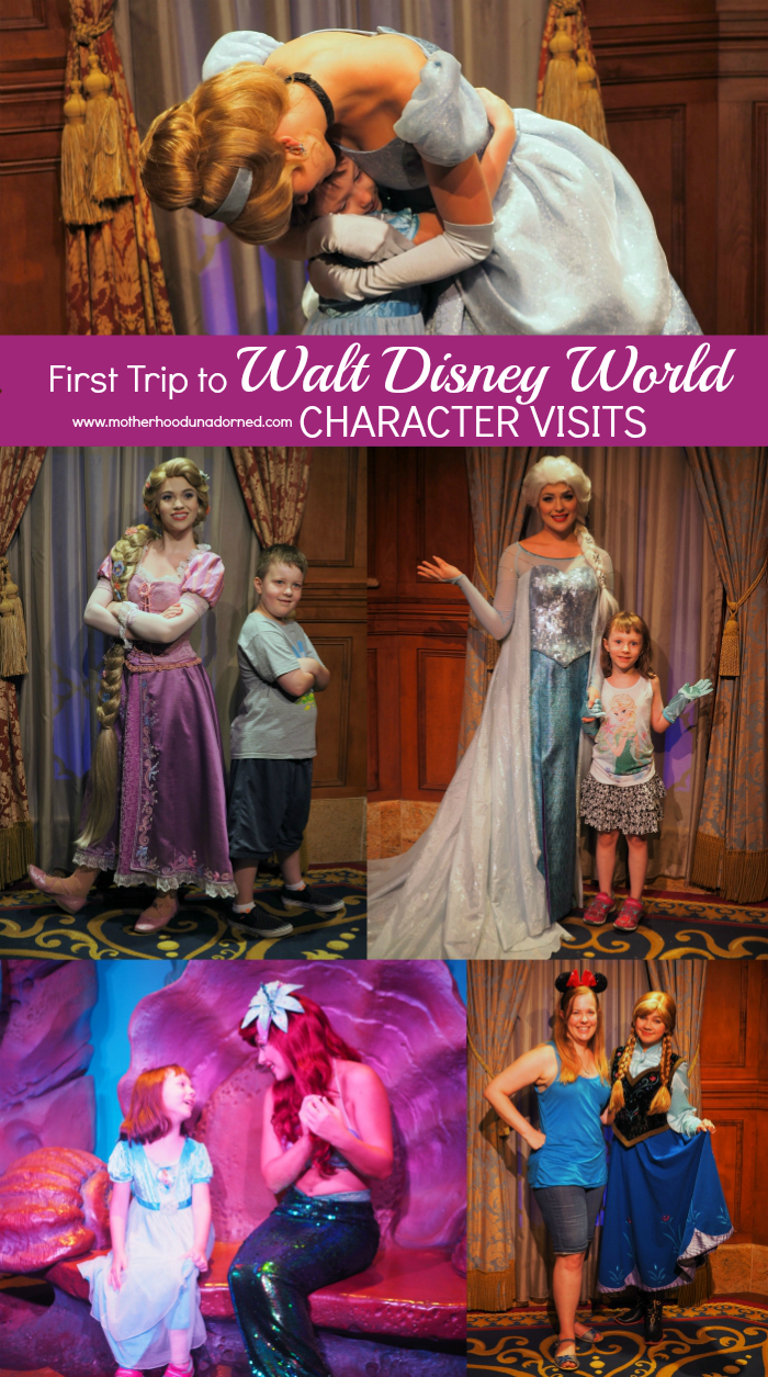 First Trip to Walt Disney World Favorties Character Visits, Princesses