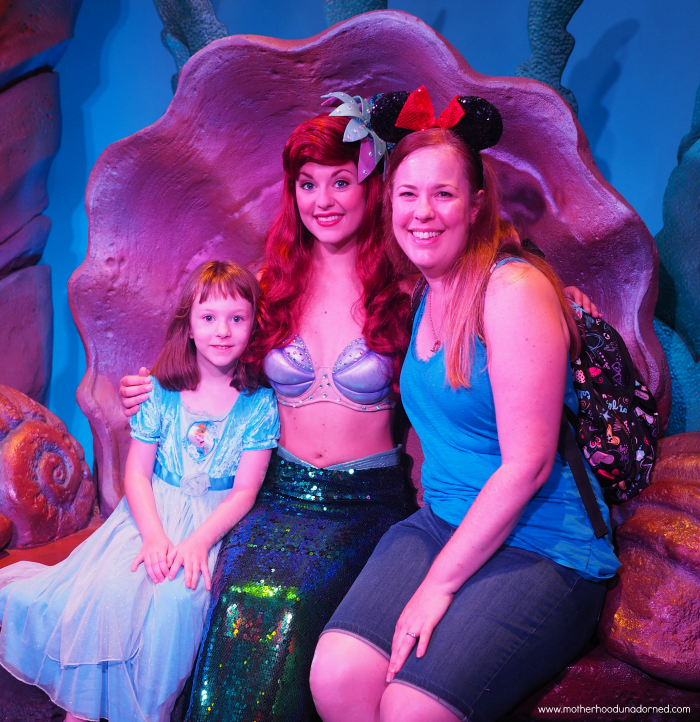 Meeting Ariel Disney World