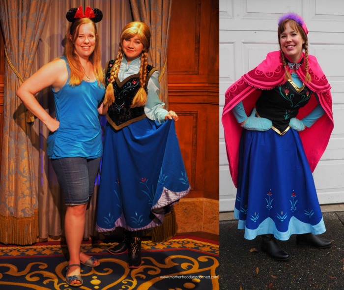 Princess Anna comparison