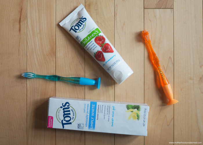 Tom's of Maine toothpaste #NaturalGoodness AD