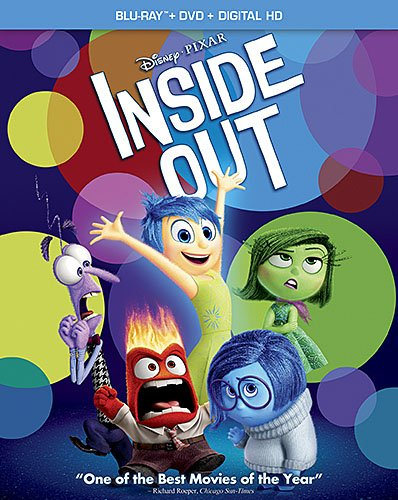 Inside Out Blu ray DVD Combo Pack
