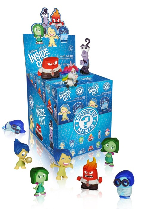 Inside Out Myster Minis