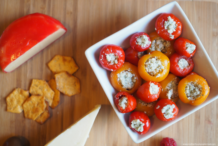 Blue Cheese stuffed Peppadew