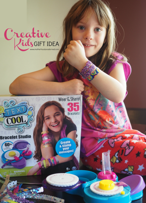 Creative Kids Gift Idea Text Cool Bracelet Studio AD