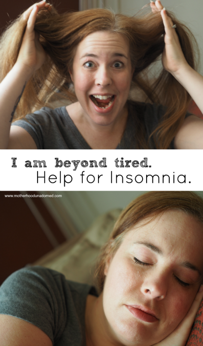 I am beyond tired help for insomnia #beyondtired AD