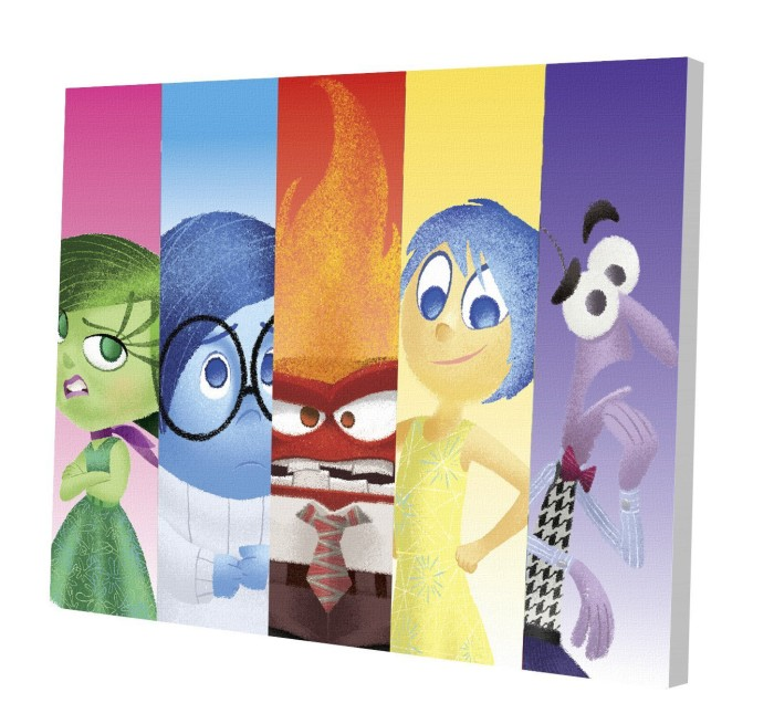 Inside Out Canvas Wall Art