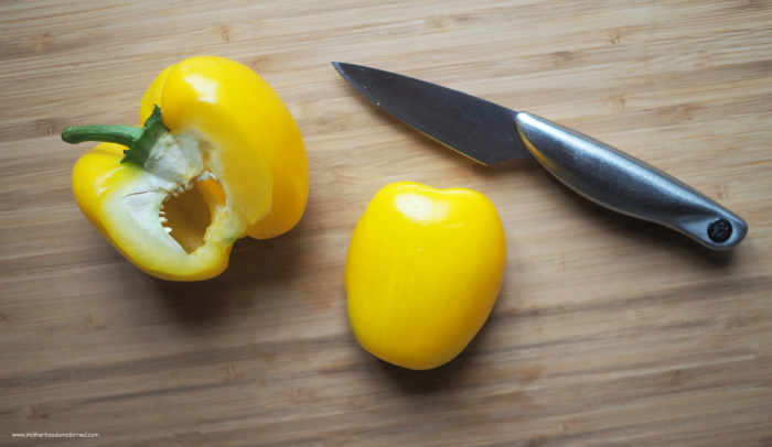 Cut-yellow-peppers