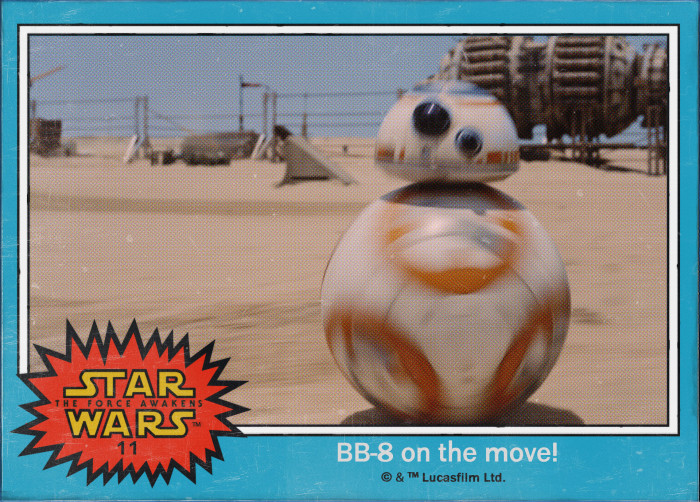 Star Wars BB-8 Trading Card