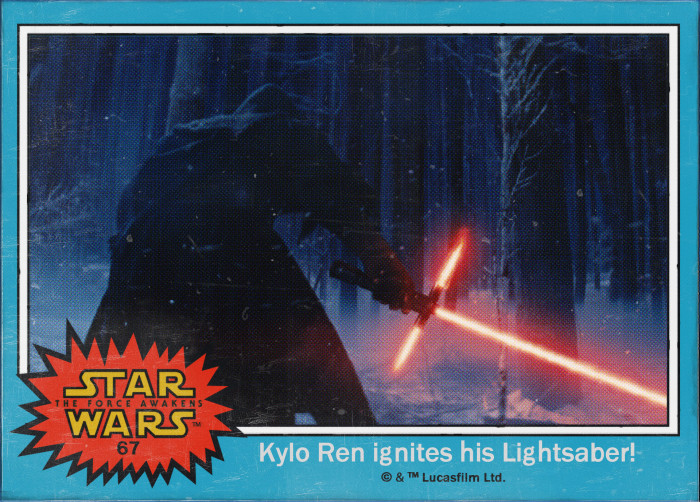 Star Wars Kylo Ren Trading Card