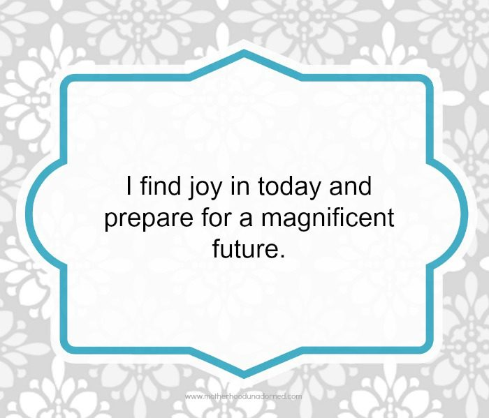 Day 27 30 Days of Positive Affirmations Magnificent Future