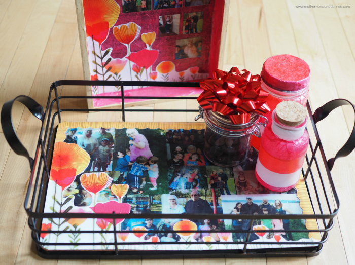 decoupage photo memory gifts