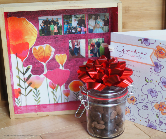 grandma mothers day card and decoupage gift