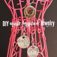 DIY Music Inspired Jewelry Tutorial {Share a Coke and a Song Sweepstakes}
