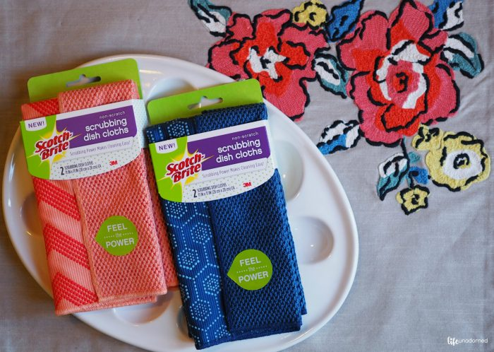 Scotch-Brite® Scrubbing Dish Cloth 2 pack