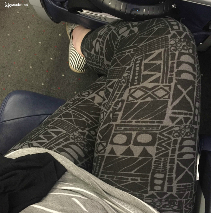 Travel in comfort lularoe leggings for air travel