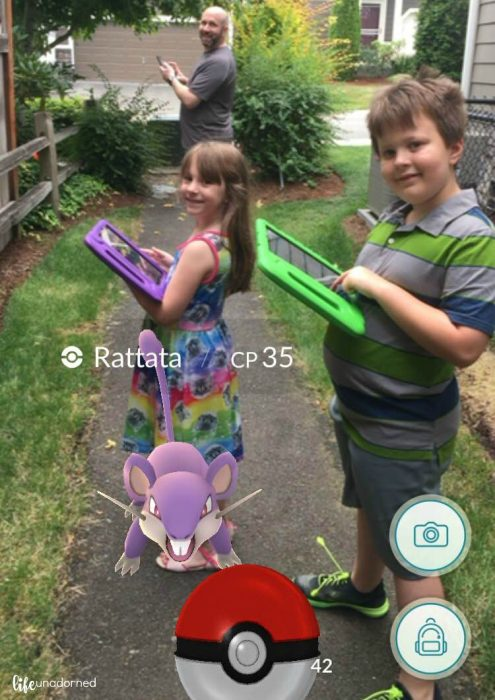 pokemon go family adventure